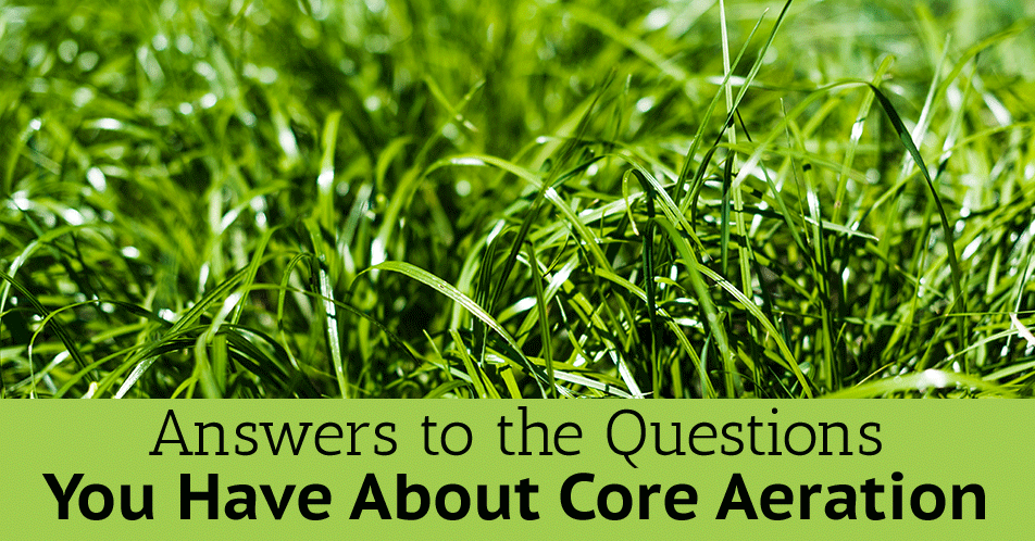 Answers to the Questions You Have About Core Aeration