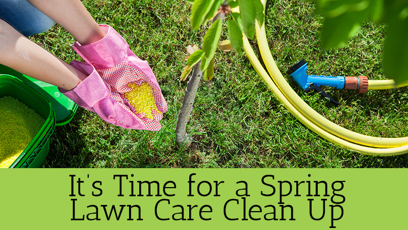 It's Time for a Spring Lawn Care Clean Up